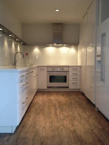 Condo kitchen remodel - Los Angeles