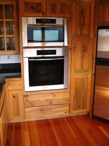 Miele wall oven and microwave installation in Bend Oregon