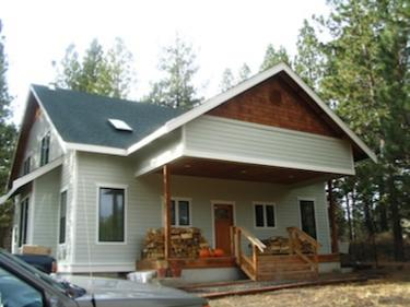 Custom home built by Damien Daniels Construction in Bend Oregon