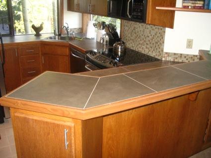 Bend oregon kitchen remodel damien daniels construction for Kitchen remodel tile countertops